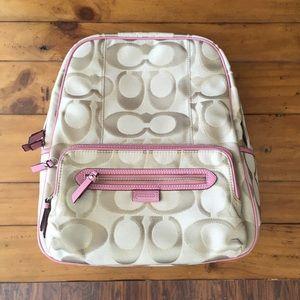 Coach Signature Backpack
